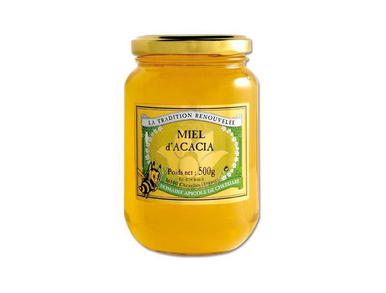 Miel d'acacia domaine chezelles