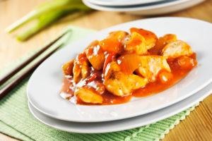 Recette domaine apicole chezelles : poulet sauce chinoise au miel