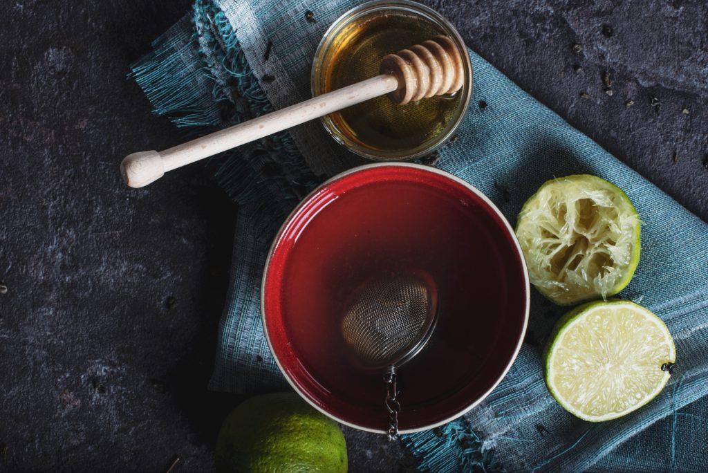 remède pour le rhume à base de citron et miel