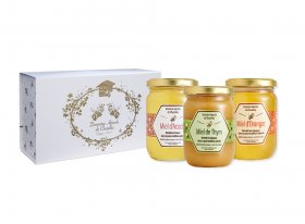 Coffret 3 Miels Gourmands
